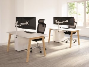 Office Furniture Timber Leg Frame