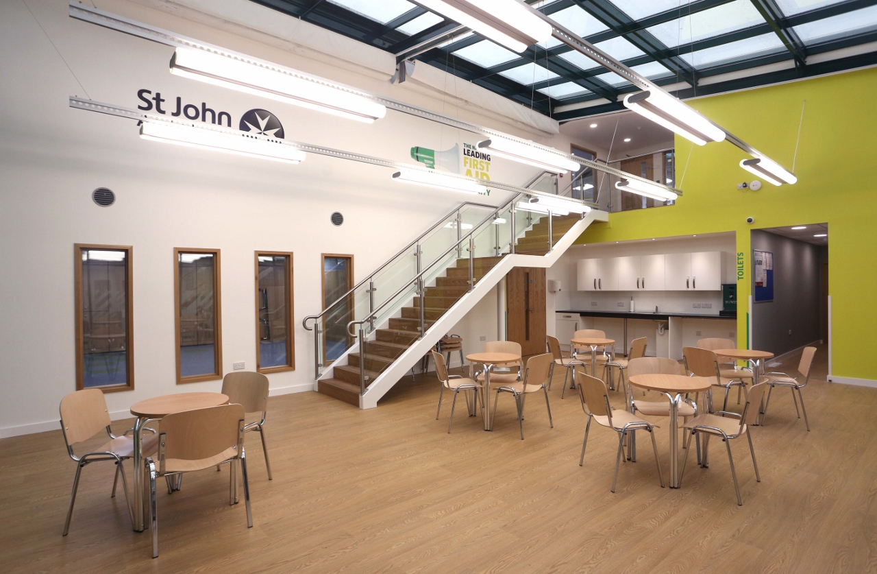 Refurbishment of Cambridge Office Space for St John Ambulance