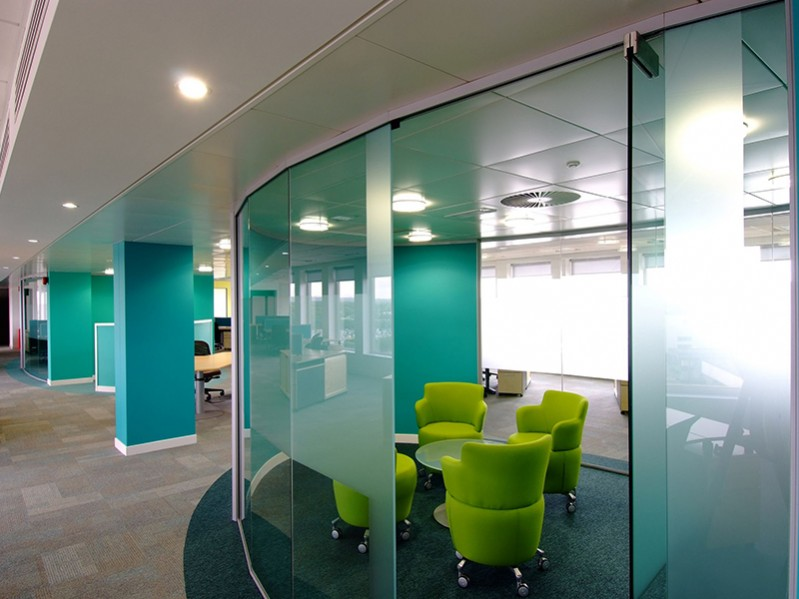 Silicone Glazed Partitions