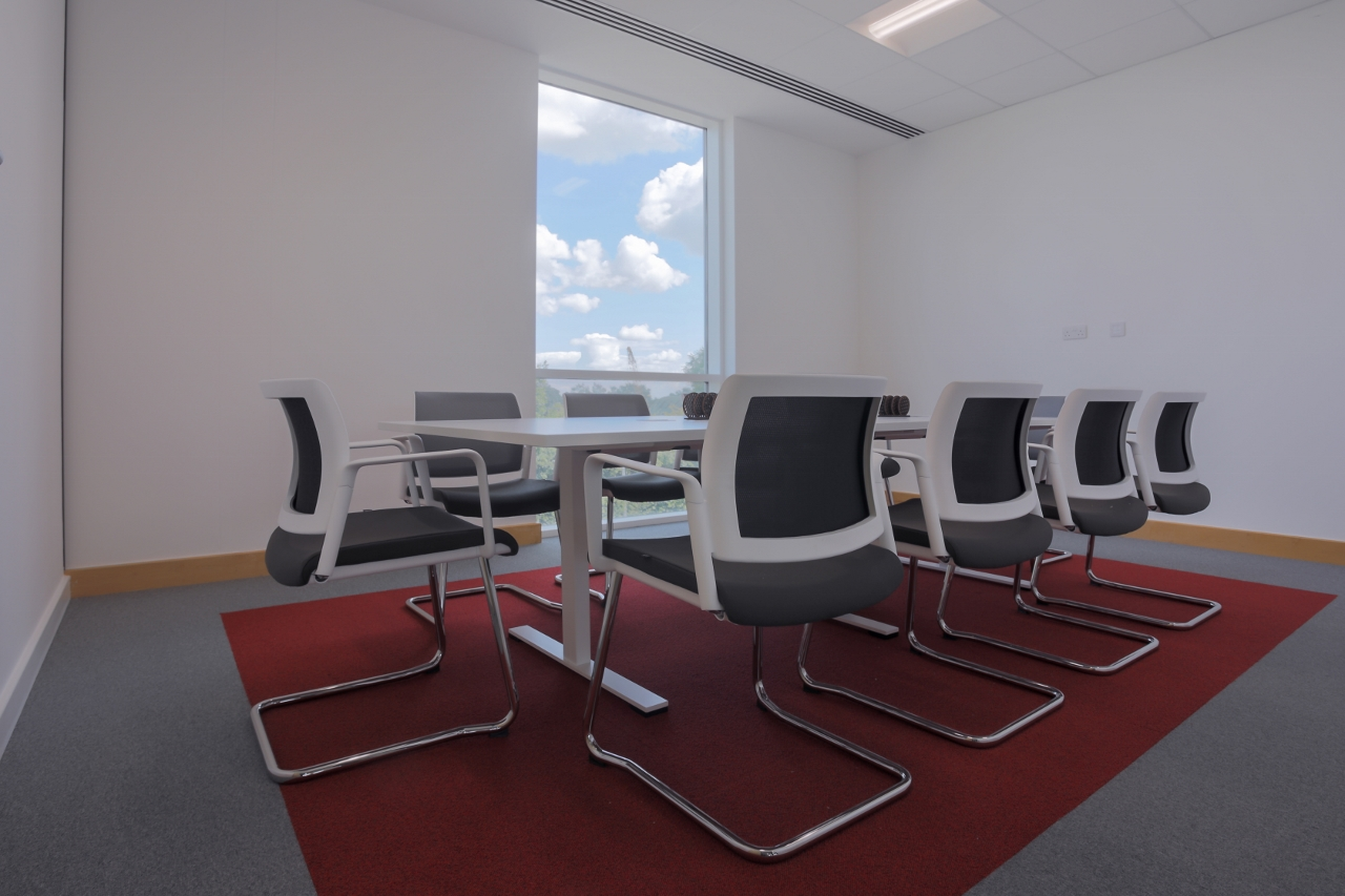 Meeting Room with zoned carpet area